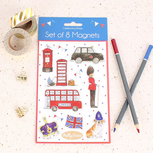 Celebrating Britain Magnets - magnets