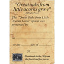 Little Acorns Christening Spoon Gifts For Girls Or Boys