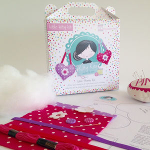 Mini Hearts Sewing Craft Kit Girls Gift - creative kits & experiences