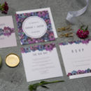 Flora Wedding Stationery Suite