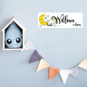 Personalised Nursery Door Name Plaque - decorative accessories