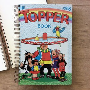 'The Topper' 1968 Upcycled Notebook