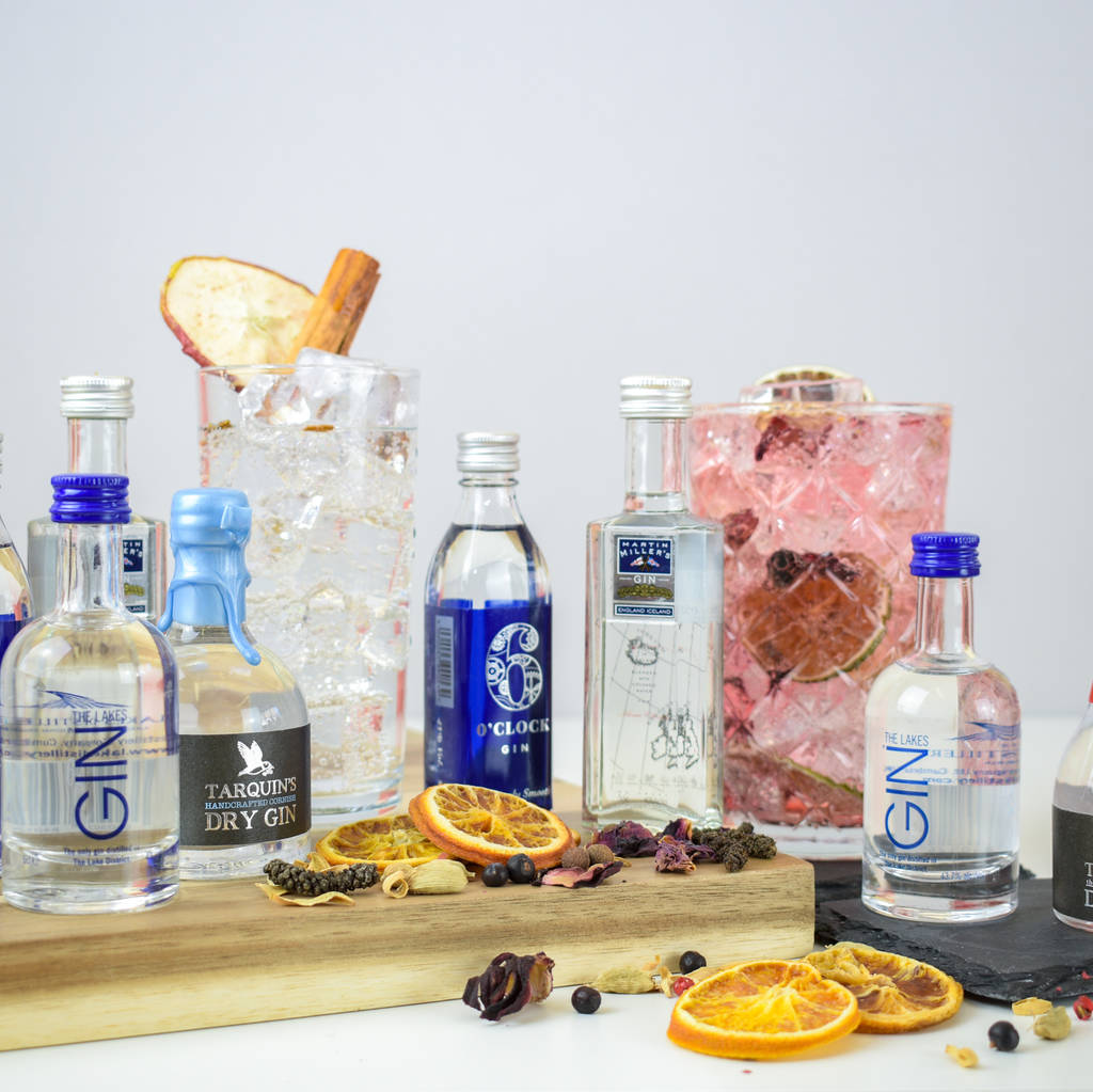 Traditional English Gin Tasting Set