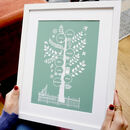 Personalised Family Tree For Nanny, Nana, Grandma