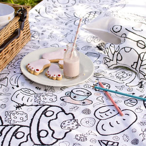 Colour In Picnic Blanket - summer activities