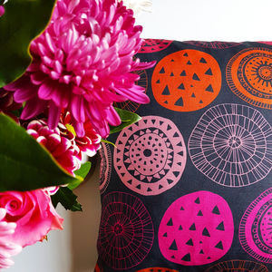 Urchins Cushion - living room