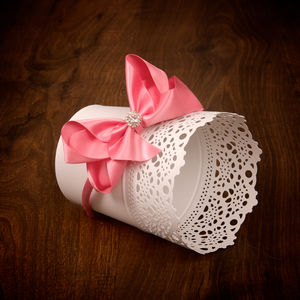 Luxury Satin Headband With Crystal Centre - baby & child sale