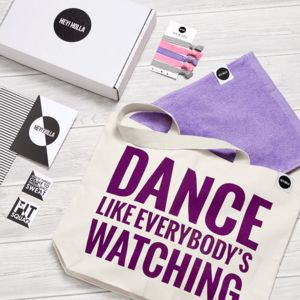 Dance The Gym Tote Fit Kit, Gift Box - women's accessories