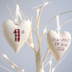 Personalised Baby's 1st Christmas Decoration