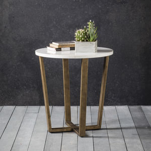 Marble Occasional Table - side tables