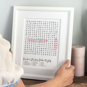 Personal Wordgame Print
