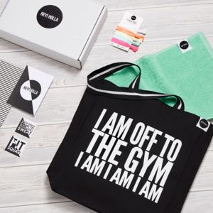 Gym Bunny, The Gym Tote Fit Kit, Gift Box