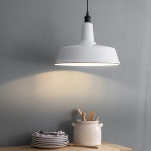 Chalk White Pendant Light