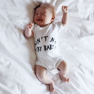 Ain't No Cry Baby Bodysuit