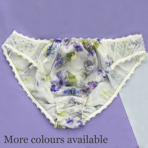 Luxury Silk Brief - lingerie & nightwear