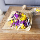 Personalised Dried Flower Bouquet