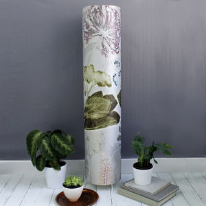 Delicate Pastel Bouquet Meter High Feature Floor Lamp