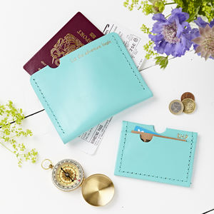 Passport And Card Holder Set
