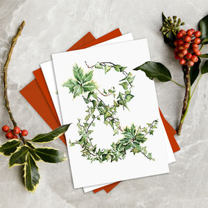 The Holly And The Ivy Designer Christmas Card Packs