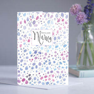 'Mum' Love You Card - shop by category