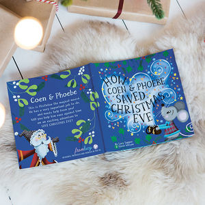 Personalised Christmas Eve Children's Book - christmas eve box ideas