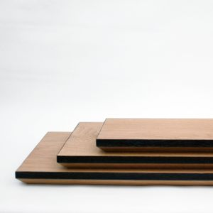 Rectangular Solid Oak Chopping Board