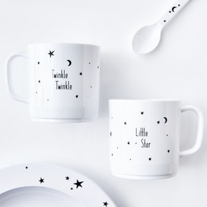 Twinkle Star Children's Melamine Cup - children's tableware