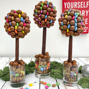 Malteser And Smarties Chocolate Tree - novelty chocolates