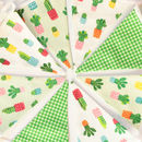 Colourful Cactus Mini Bunting