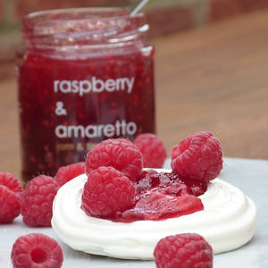 Raspberry And Amaretto Jam - what's new