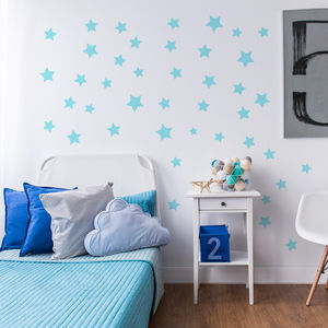Star Wall Stickers - wall stickers by room