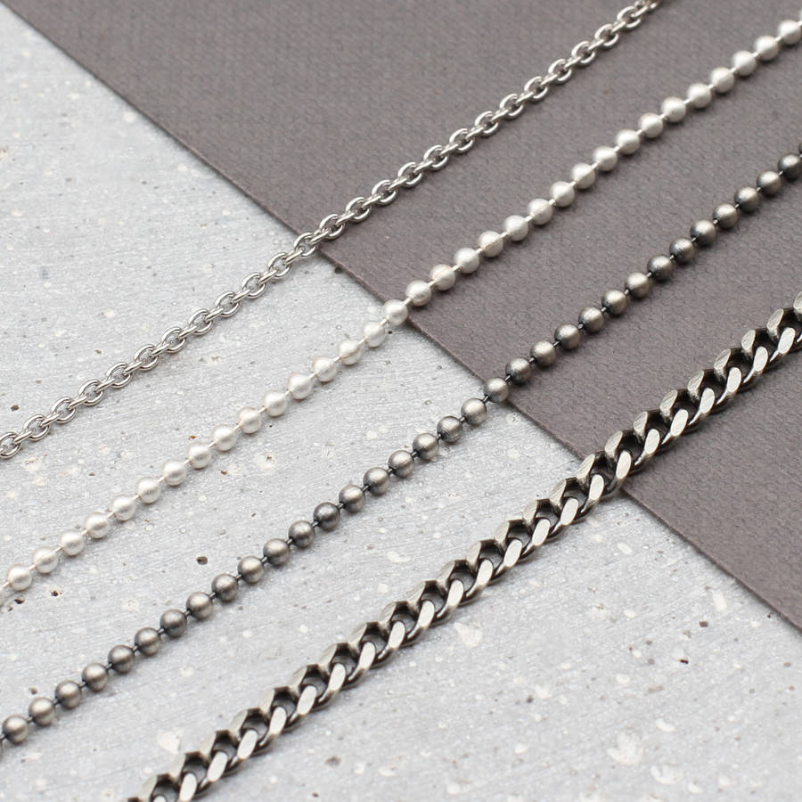 jewelry mens necklace necklaces thai from chain pure men women item chains in for statement sterling silver