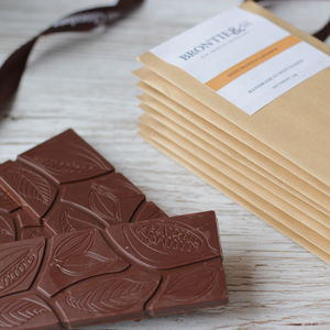 Luxury Multipack Of Eight Organic, Vegan Chocolate Bars - gifts for vegans