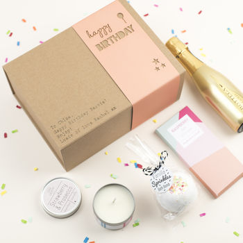 Prosecco Birthday Gift Box