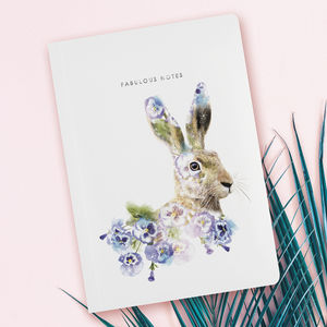Luxury Hare Notebook / Journal