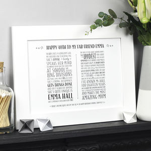 Personalised Poem For A Special Occasion
