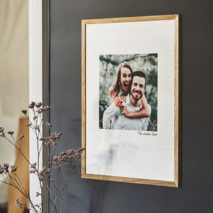 Personalised Favourite Photo Cotton Print - gifts for him