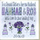 Personalised Special Sister Wedding Card