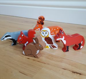 Wooden Wildlife Animals - traditional toys & games