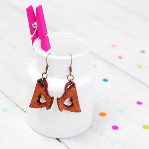 Tea Cup Earrings Large