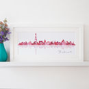 Personalised Skyline Print