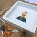 Paper People Miniature Portrait
