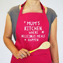Personalised Delicious Meals Apron
