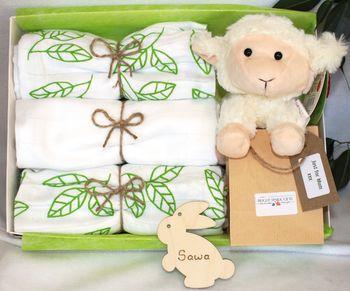 Fluffy Lamb, Unisex Mother And Baby Hamper