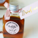 Personalised Cocktail Bottles For Wedding Favours Diy
