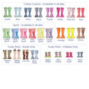 Personalised Welly Boot Family Babygrow