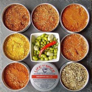 The Magnificent Seven BBQ Rub Collection - gifts by category