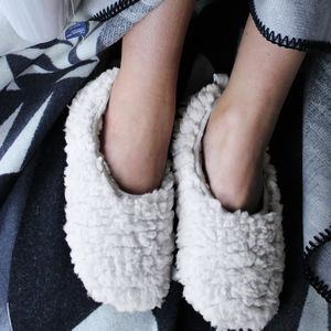 Cloud Babouche Slippers - lingerie & nightwear