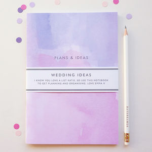 Wedding Ideas Notebook