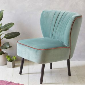Mint Velvet Mid Century Cocktail Chair - chairs